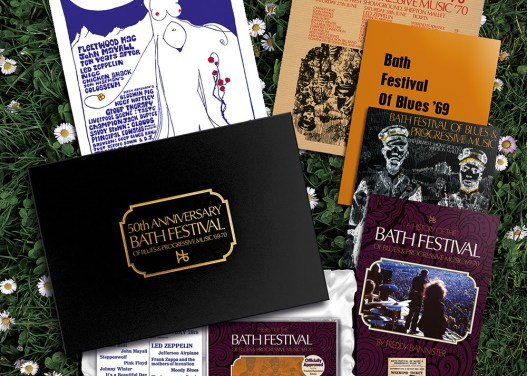 The Bath Festival of Blues and Progressive Music '69-70 50th Anniversary Box Set & Merchandise For Release November 27, 2020