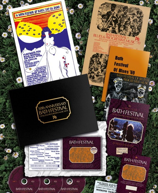 The Bath Festival of Blues and Progressive Music '69-70 50th Anniversary Box Set & Merchandise For Release November 27, 2020