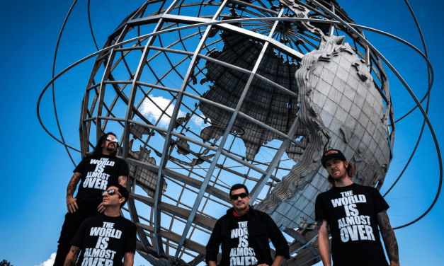 """NYC's Black Suit Youth Drop New Environmental Anthem """"The World Is Almost Over"""""""