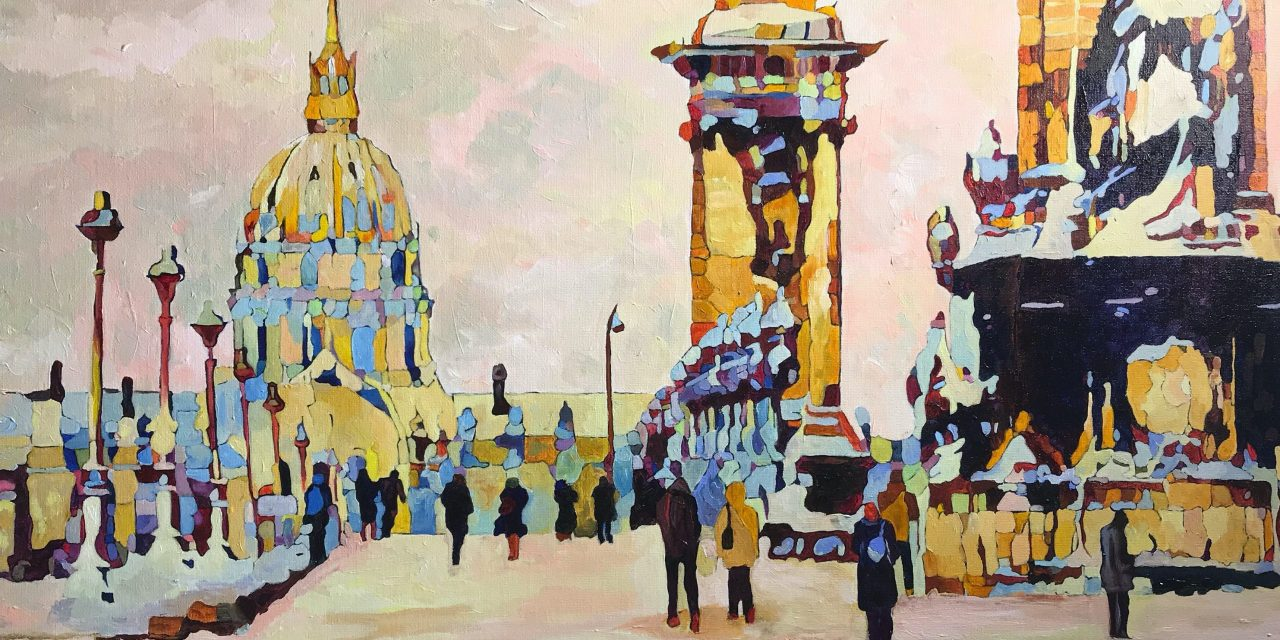 """Andrei Poliakov """"LA PROMENADE IN PARIS IN THE SUNSHINE"""" will be released on the 22nd of January"""