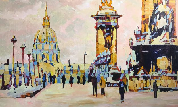 "Andrei Poliakov ""LA PROMENADE IN PARIS IN THE SUNSHINE"" will be released on the 22nd of January"