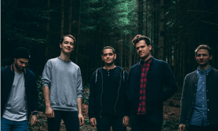 Rising German Post Rock Group THERE'S A LIGHT Signs Worldwide Record Deal with Napalm Records