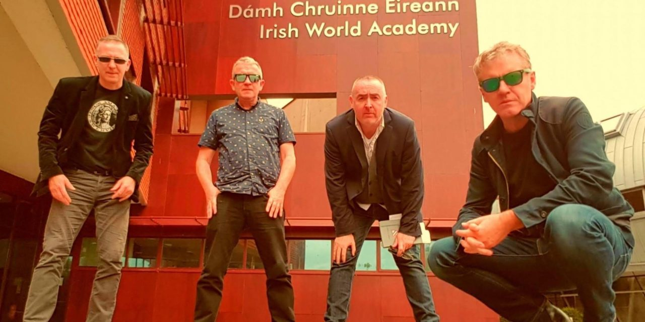 BOOMTOWN RATS' PETE BRIQUETTE and SONS OF SOUTHERN ULSTER reveal 'Live In The Past' ahead of 'Turf Accountant Schemes' EP release
