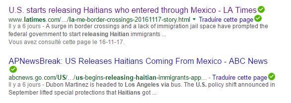 release-haitians