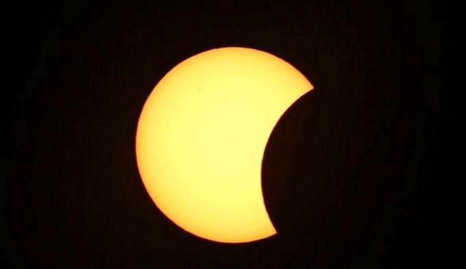 À quelle heure apparaîtra l'éclipse sur le territoire d' Haïti, lundi 21 août?