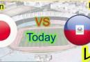 Sport/rencontre amicale mardi matin au Japon : Haïti 3 -Japon 3