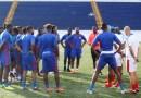CNL- Nicaragua-Haïti , les grenadiers découvrent la nouvelle pelouse du stade national de Managua !