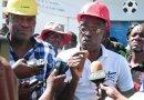 Le ministre des sports lance les travaux de réhabilitation du Parc Vincent des Gonaïves