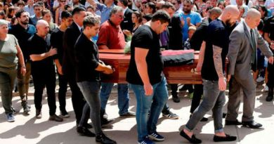 Argentine – Football: le dernier adieu rendu à Emiliano Sala, la fierté de la ville de Progreso