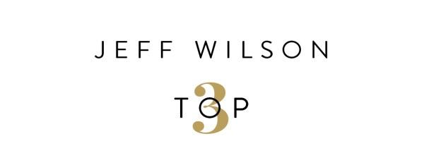 Jeff Wilson's Top 3
