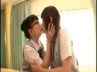 放課後の教室でレズる制服娘達のrezu動画