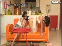 湊莉久と乙葉ななせがアナル舐めレズプレイをしてるrezu動画