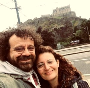 Reha Ozcan si sotia lui