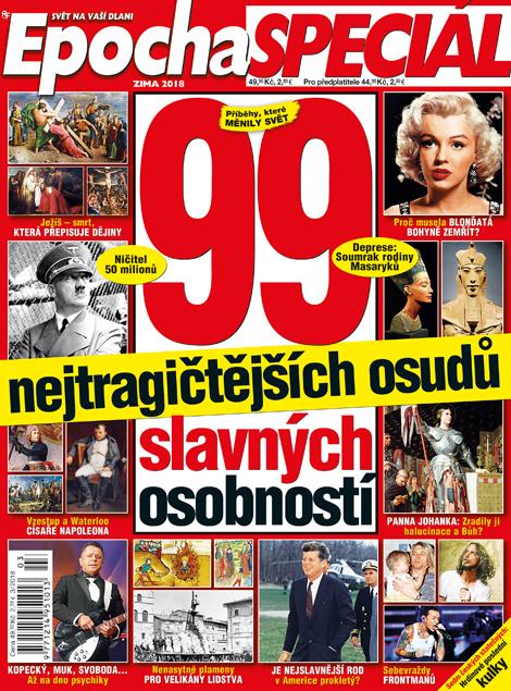 Aktuální číslo časopisu Epocha speciál
