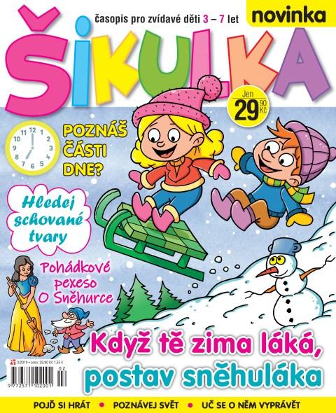 Aktuální číslo časopisu Šikulka