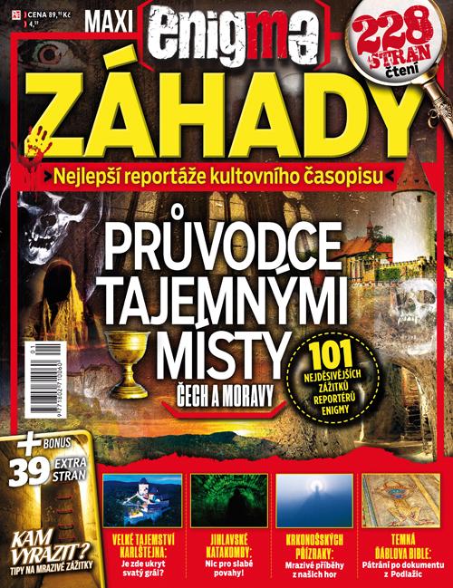 Aktuální číslo časopisu Enigma MAXI