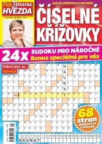 Číselné křížovky – Moje šťastná hvězda 1/2020