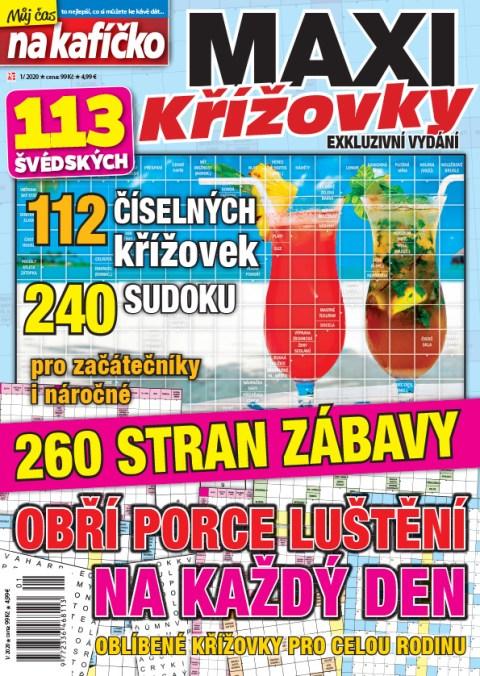 Aktuální číslo časopisu Maxikřížovky