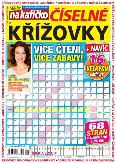 Aktuální číslo časopisu Číselné křížovky – Můj čas na kafíčko