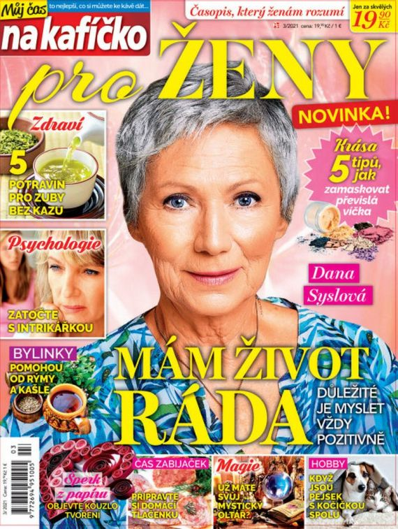 Aktuální číslo časopisu Můj čas na kafíčko pro ženy