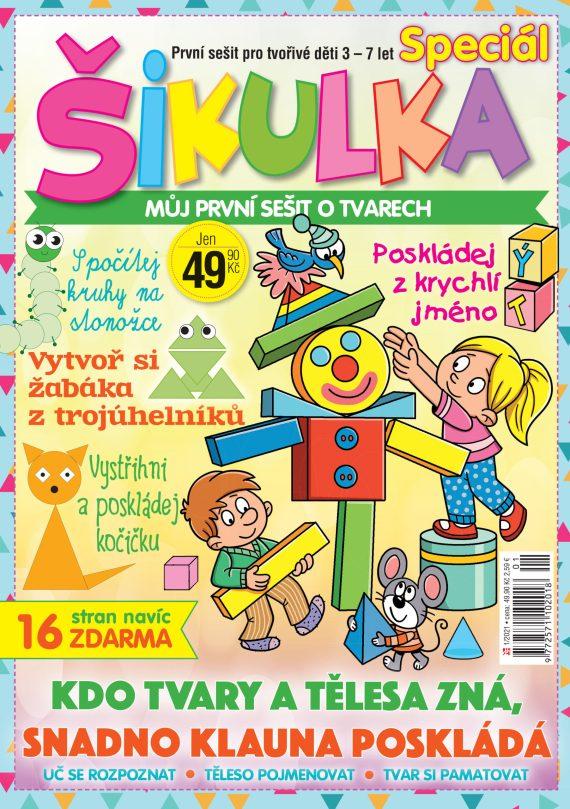 Aktuální číslo časopisu Šikulka speciál