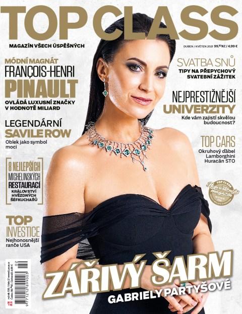 Aktuální číslo časopisu Top Class