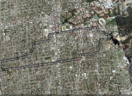 31 Aug 2008, Berkeley: to the race track
