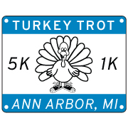 TURKEY TROT CALENDAR SQUARE