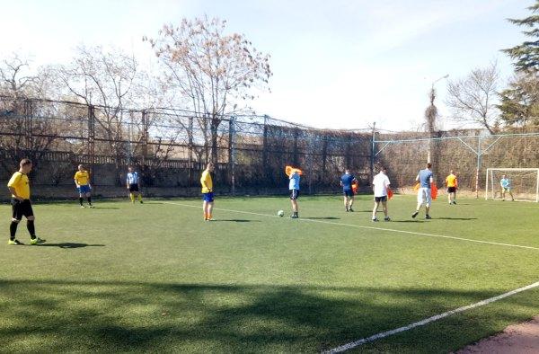 С 24 марта по 14 апреля в Севастополе пройдет турнир по мини-футболу в рамках Спартакиады трудящихся