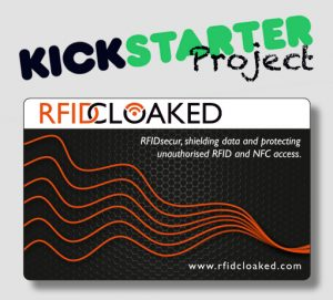 Kickstarter reward card
