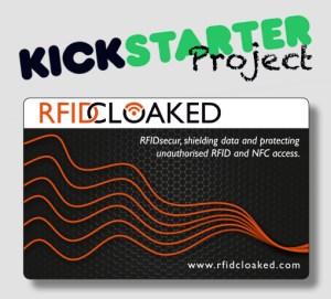 Kickstarter reward card