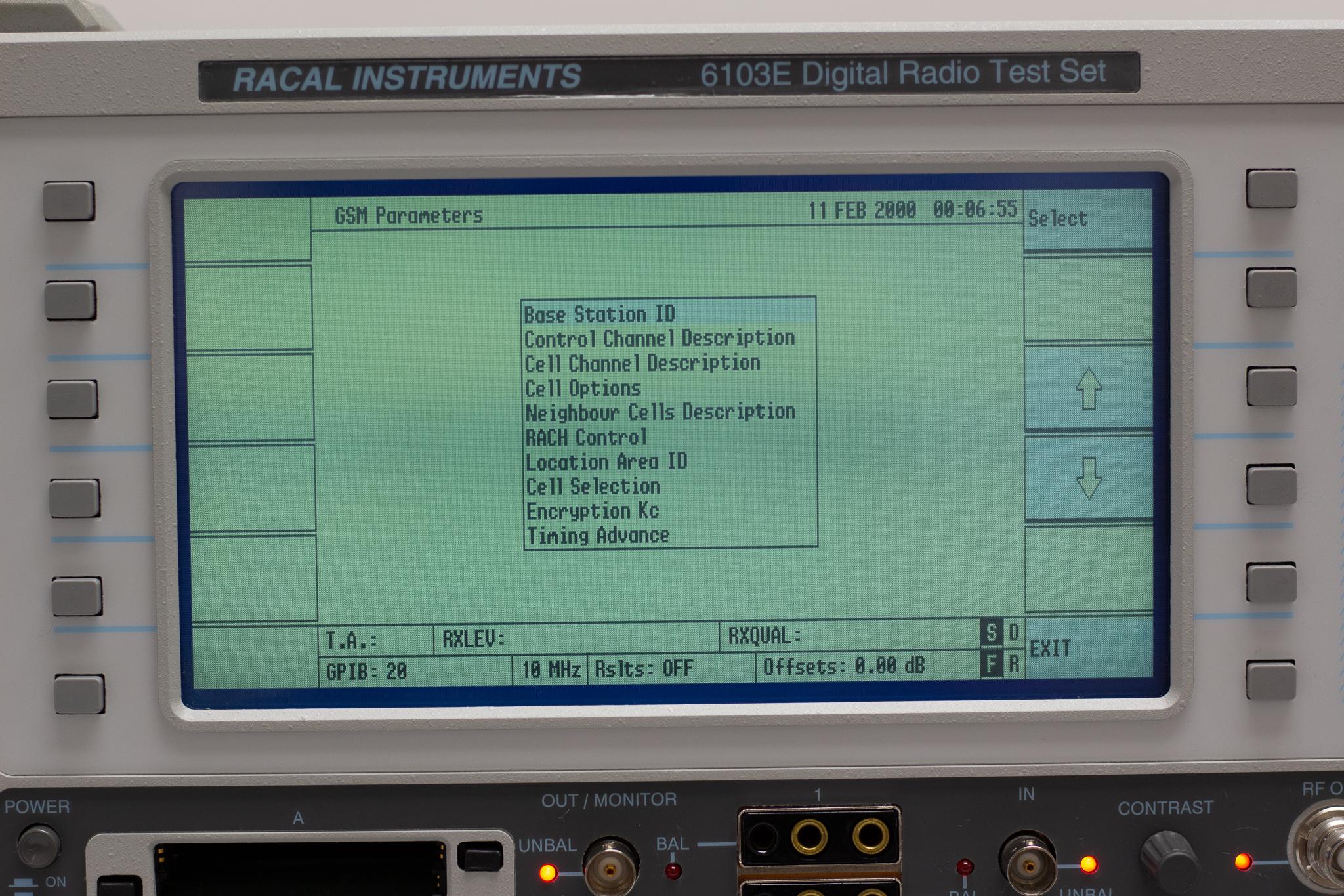 Racal Instruments 6103E / 6113E Digital Radio Test Set - RF