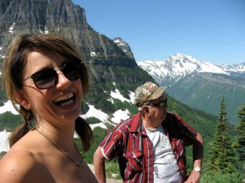 Beautiful scenery in Montana with family
