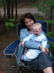 Montana camping with my favorite little smiler.. my grandson