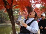 Cultural hike in Korea