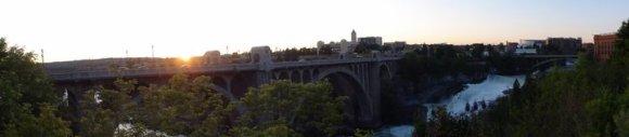 Bridge in Spokane, WA