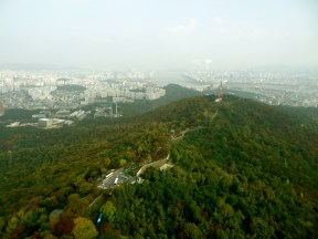 View from Seoul tower