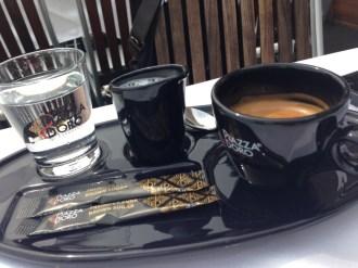 Best way to start the day. Coffee in Prague