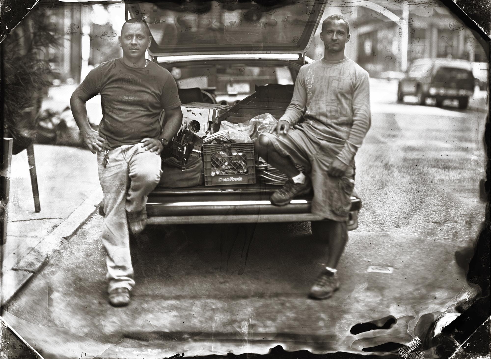 Szymon and Maciej ©Jill Enfield