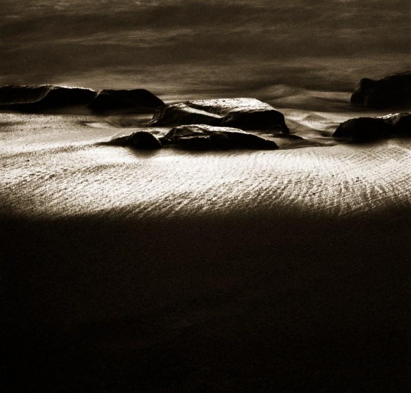Figure On Beach © Jack Wasserback