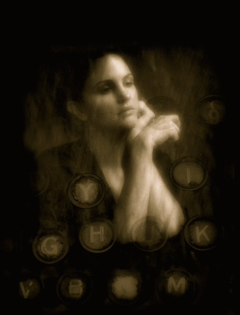 The Writer © Josephine Sacabo