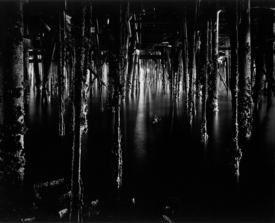 Under Monterey Wharf by Wynn Bullock© Bullock Family Photography, LLC