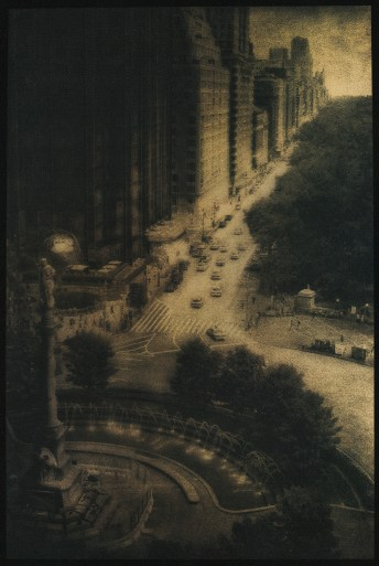 Central Park West © Peter Liepke, Gum Bichromate