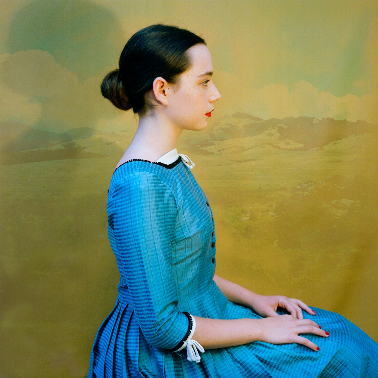 Lucy in Blue © Aline Smithson