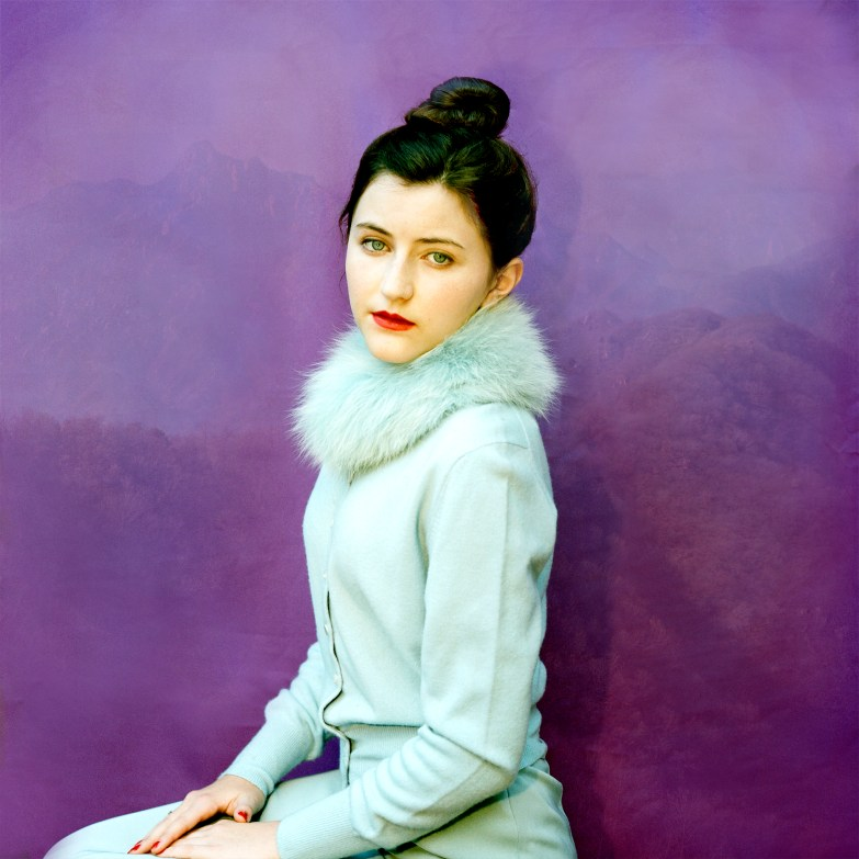 Jacklyn in Blue Fur © Aline Smithson