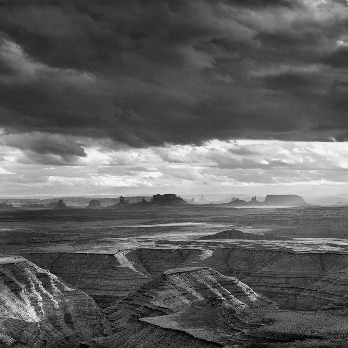 Monument Valley Eve Clouds © Alan Ross