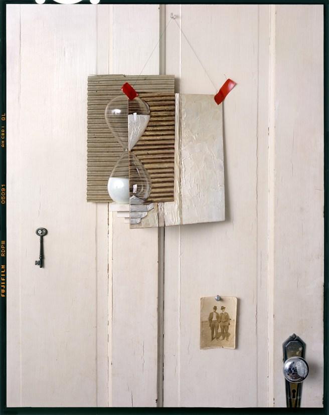 Hourglass,Painting on Door © John Chervinsky