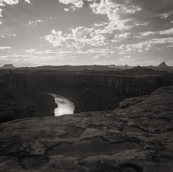 Last Light, Canyonlands, 2014 © Matthew Vogt