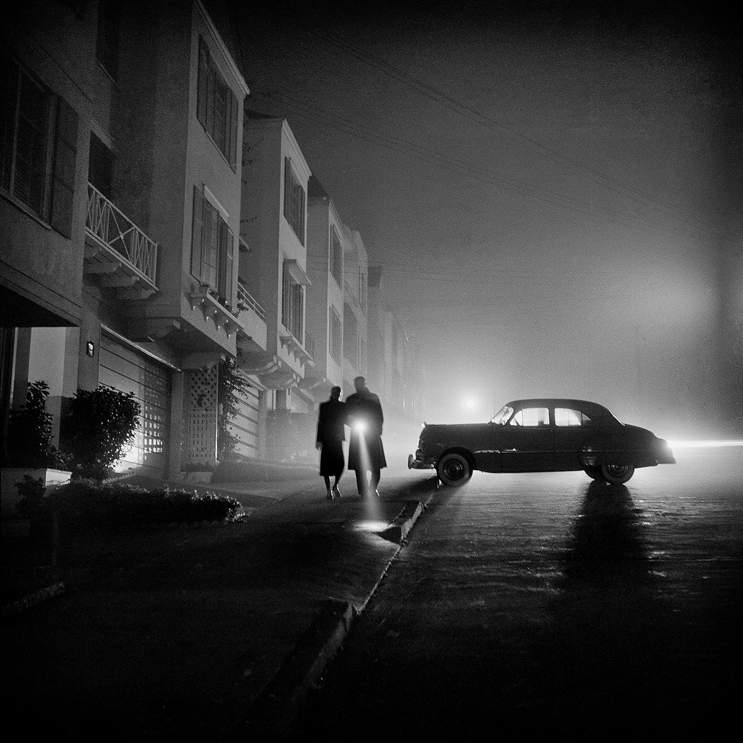 Foggy night, Land's End, San Francisco, 1953 © Fred Lyon