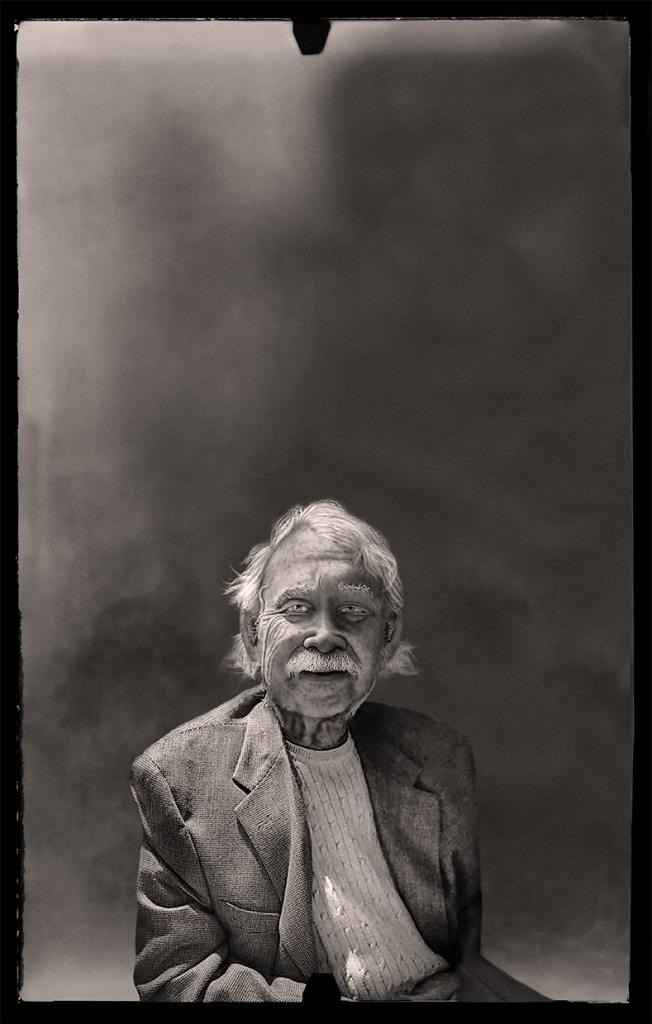 Dad at Ninety © Leslie Hall Brown